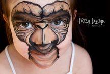 Makeup hallowen