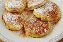 Tortitas y buñuelos