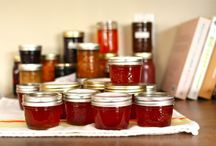 Canning, pickles, jams and jellies / by Barbara Worm