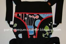 patrones de mochila de bebe