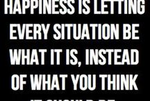 Stay Positive My Friends / Think Happy Thoughts