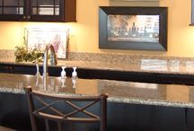Home Bars / Stylish home bars we have built at J Brothers Home Improvement.