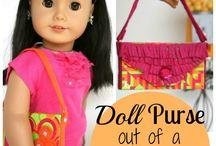 AMERICAN GIRL DOLLS & IDEAS / ANYTHING FOR AMERICAN GIRL, FREE PATTERNS AND IDEAS. / by Crystal Richey