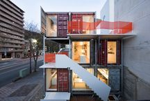 Shipping Container Homes / by Kyle Cooper