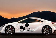 Car / Mickey Mouse Desing