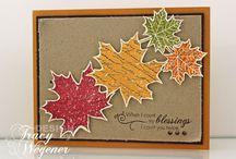 Cards-Autumn/Thanksgiving / by Debbie Eslinger