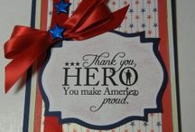 Red, White & Blue / by Scrapbook Expo