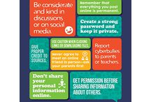 Yr8B Digital Literacy / 1) Find me a resource that will explain the importance of good digital footprint? Pin your response here and provide an explanation as to your choice.  2) Find and pin, 3 different resources on cell phone etiquette .  Also explain in few words why did you choose this resource