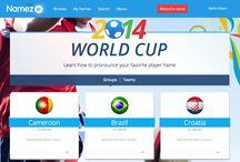 world cup 2014 players names pronounced / For the first time in history, sportscasters and fans can hear the correct pronunciation of all the team's players, coaches, referees and stadiums for the #worldcup2014