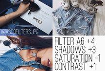 filtros e efeitos