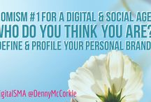 Momisms for a Digital & Social Age / Moms are wise.  Moms give good advice about using social media.