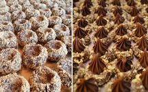 cukroví, dortíky