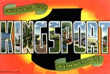 Greetings From Kingsport, Tennessee / A selection of postcards from the Archives of the City of Kingsport featuring a variety of people and places.