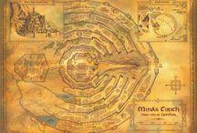 Карты Средиземья