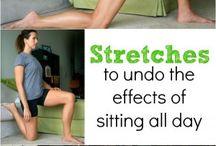 Run, lift, stretch, breath
