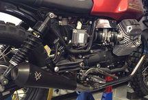 Moto Guzzi V7 / This board is about Moto Guzzi / by Xavier Valembert