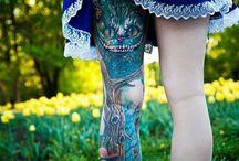 Tatuajes | Alicia en el país de las maravillas