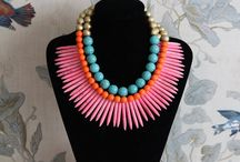 Inspiration: Statement Jewelry / Fab pieces of jewelry you can buy or DIY.