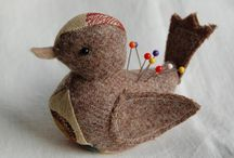 Stitch - Pin cushions, scissor cases, needle books & notions. / by Cheryl Smith