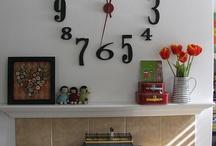 clock / by Blooms N Bugs