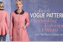 Vogue Coat Making Class on Craftsy