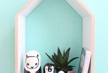 Little house shelves