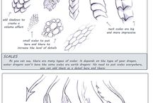 Drawing tutorial - Dragons