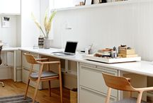 Home Office Ideas / Home office spaces, rooms, and ideas