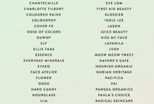 Cruelty-free brands and non Cruelty brands