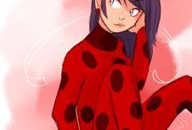 Ladybug/Marinette/Tikki