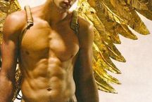 heaven and hell angels vs Devils / He'll is hot but these guys are hotter. Heven help me.