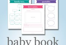 Baby Books / Digital Baby Books Available in our shop:  https://www.etsy.com/ca/shop/HappyHippoArts
