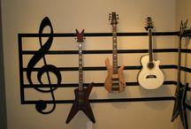 guitars and music