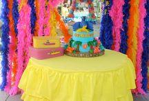Rio 2 Birthday Party / Rio birthday party ideas - cake, party supplies, decorations...