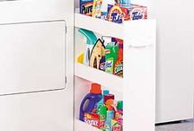 Laundry room ideas / by Felicia Lane