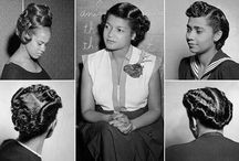 Vintage Hairstyles for black women