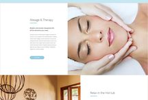 spa website design inspiration