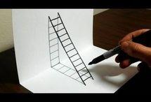 disegni illusioni