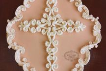 vintage ornate christening