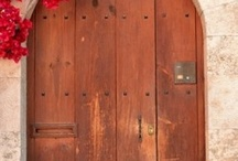 Wine cellar door