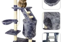 Cat Tree Scratching Post Activity Scratchers Furniture Pet Kitten Pets House