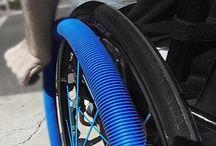 Get a push. RibGrips Wheelchair Handrims - Push rims