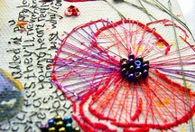 art: stitching... / by Susie Carranza Studio