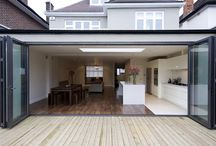 Folding Doors - Bifolding doors / Lordship Windows Ltd. presents Bifolding doors. Folding doors are types of doors that fold open instead of swinging open like the normal ones do. It is for this reason that folding doors are ideal to use in areas of limited space or where you need to use the space right beside the door.