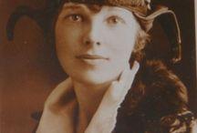 Amelia Earhart / by Hal Brower