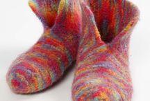 Strik sko og sokker