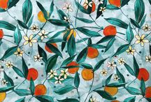 2019 SS Silk Print | Fruit