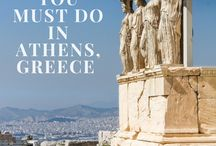 Athens, Greece - Travel Board / We're looking into visiting Athens, Greece in 2018 and a more elaborate trip to Greece is definitely in the stars for the more distant future. Collecting pins right here in my Greece (mostly Athens) board.