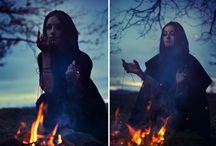 Фотосессия в стиле ведьмы