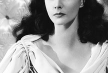 The tragic and iconic Vivien Leigh. / The iconic Vivien Leigh